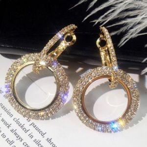 Jewelry - Swarovski Crystal Earrings NWT